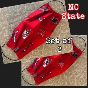 Face Mask NC STATE (SET OF 2)
